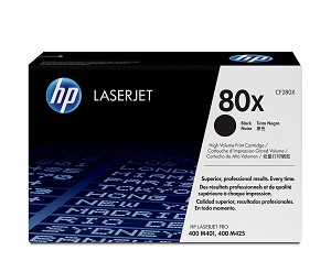 HP 80X (CF280X) High Yield Black Original LaserJet Toner Cartridge (6900 Yield)  (CF280X)