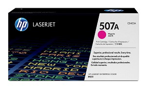 HP 507A (CE403A) Color LaserJet M551 Enterprise 500 MFP M570 M575 M575c Magenta Original LaserJet Toner Cartridge (6000 Yield)  (CE403A)