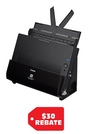 CANON DR-C225WII SCANNER (25PPM/50IPM DUPLX/WIRELESS) (3259C002AA)