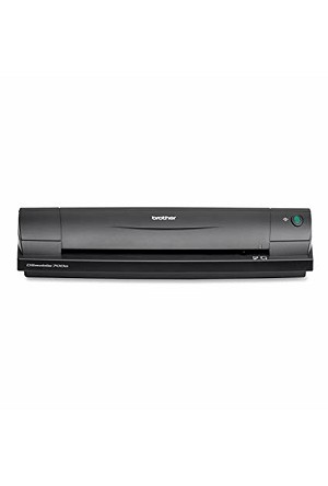Brother DS-700D Lightweight Portable Scanner Scans Two-Sided Color Documents (10ppm/10ipm)