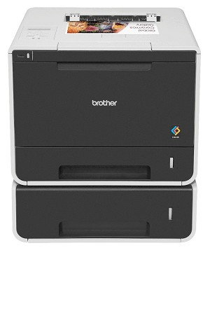 Brother HL-8350CDWT Color Laser Printer with Dual Paper Trays, Duplex and Wireless Networking (32ppm/32ppm)