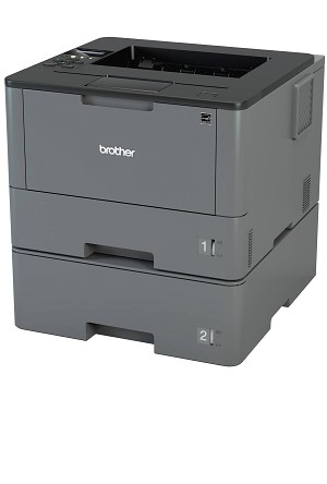 Brother HL-L5200DWT Business Laser Printer with Wireless Networking Duplex and Dual Paper Trays (42ppm)