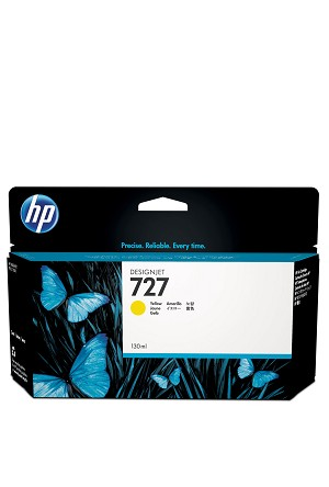 HP 727 (B3P21A) Yellow Original Ink Cartridge (130 ml)  (B3P21A)