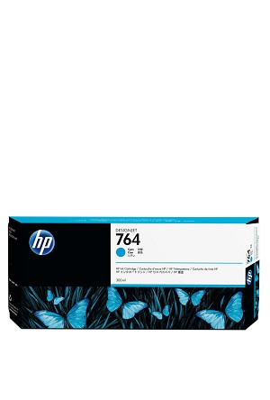 HP 764 (C1Q13A) Cyan Original Ink Cartridge (300 ml) (C1Q13A)