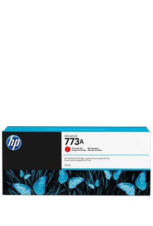 HP 773A (C1Q22A) Chromatic Red Designjet Ink Cartridge (775 ml) (C1Q22A)
