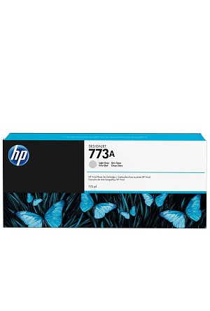 HP 773A (C1Q28A) Light Gray Designjet Ink Cartridge (775 ml) (C1Q28A)