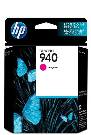 HP 940 (C4904AN) Magenta Original Ink Cartridge (900 Yield)  (C4904AN)