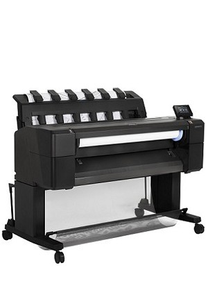 HP DesignJet T2530 36-in PostScript Multifunction Printer with Encrypted Hard Disk
