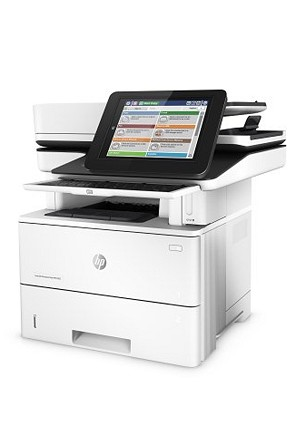 HP  Black & White LaserJet Enterprise Flow M527z 45 ppm Multifunction Printer/ Copier/ Scanner/ Fax