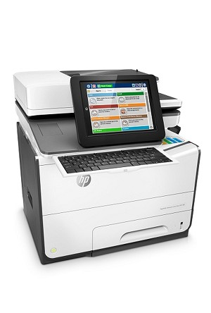 HP Color PageWide Enterprise Flow MFP 586z 50ppm/ 50ppm Multifunction Printer/ Copier/ Scanner/ Fax