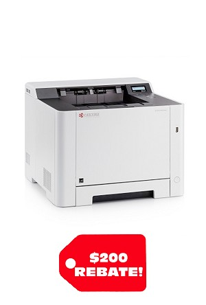 Kyocera Ecosys P5026CDW Color Printer (27ppm/27ppm)
