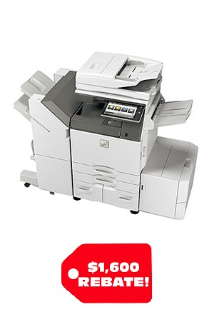 Sharp MX-3570V Color Desktop Laser Multifunction Copier (35ppm/35ppm)