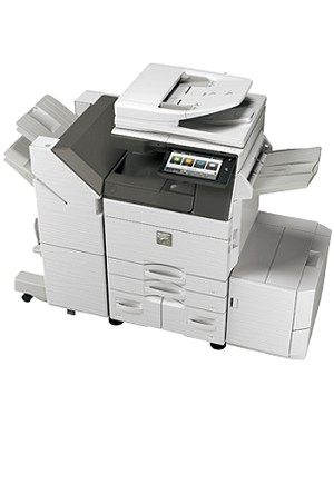 Sharp MX-5050N Color Desktop Laser Multifunction Copier (50ppm/50ppm)