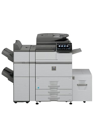 Sharp MX-M654N Console Monochrome Multifunction Laser Copier (65ppm)