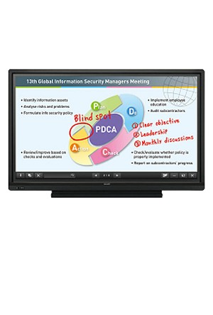 Sharp PN-L603B (60.1-Inch Diagonal) UV2A LCD Monitor Display Interactive System Aquos Board  (Package 3)