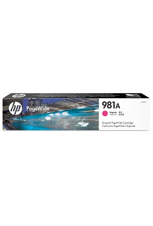 HP 981G Extra High Yield Magenta Original PageWide Cartridge for US Government (16000 Yield) (T0B05AGOV)