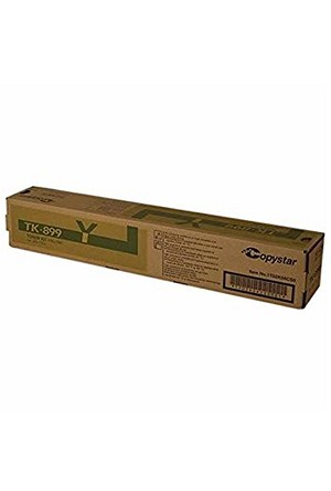 Copystar TK-899Y Yellow Toner Cartridge (6K)  (1T02K0ACS0)
