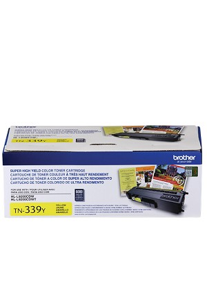 Brother Super High-Yield Yellow Toner Cartridge (6K) (TN339Y)