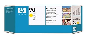 HP 90 (C5057A) Yellow Printhead/Printhead Cleaner (Ink Not Included)  (C5057A)