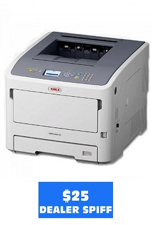 Okidata MPS5501b Printer (55ppm)
